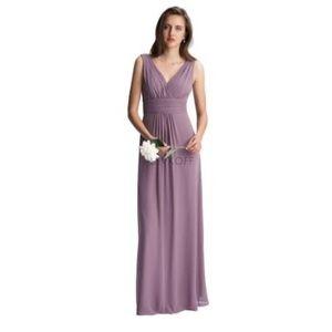 #Levkoff chiffon maxi dress